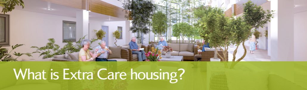 What is Extra Care? | Oak Retirement Ltd | Somerset header image
